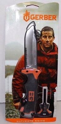 Gerber Bear Grylls, Kräftiges Outdoor-Messer Ultimate Knife