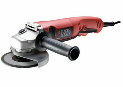 BLACK&DECKER KG100 Power Electric Angle Grinder  Left Auxiliary Handle Position