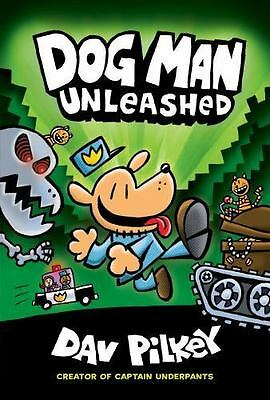 Dog Man: Dog Man Unleashed 2 by Dav Pilkey (2016, Hardcover)-NEW-FAST SHIPPING
