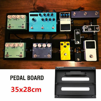 35 * 28cm Detachable Guitar Effect Pedal Board Pedalboard With Carrying Bag Set