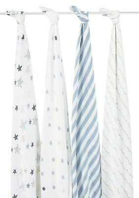 aden + anais Classic Swaddle, 4 Pack (Rock Star) Free Shipping!