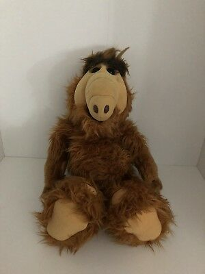 Vintage ALF Plush Toy From 1986 - Everyone's Favourite 1980s Alien!
