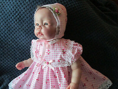 **REBORN DOLL** EMBOIDERED COTTON OUTFIT** For 19/22inch