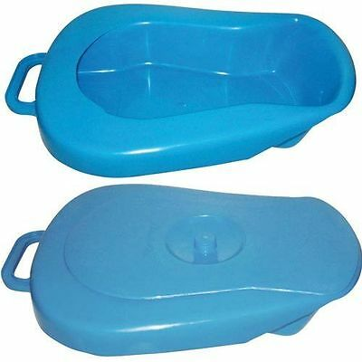 Bed Pan Complete With Lid
