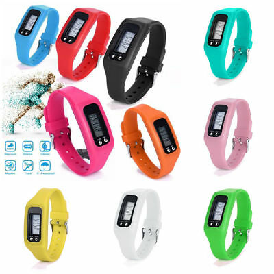 Children Step Counter Fitness Pedometer Kids Activity Tracker Fit-Bit style band