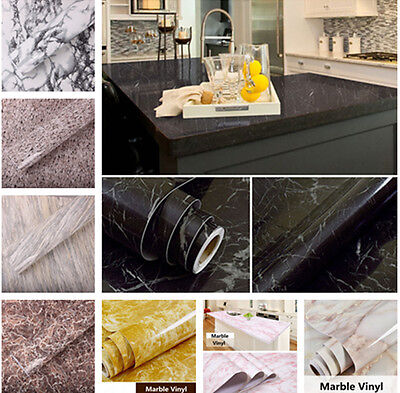 Marble Effect Counter Top Contact Paper Vinyl Self Adhesive Vinyl Sticker Hot