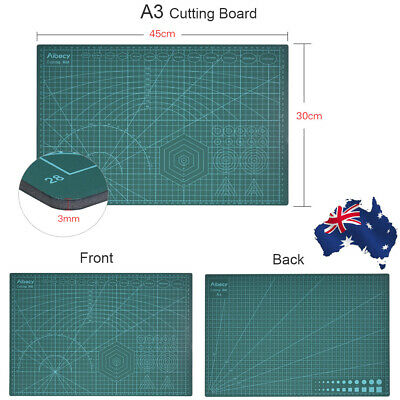 PVC Green Cutting Mat Board A3 Size Pad Model Hobby Design Craft DIY Tools