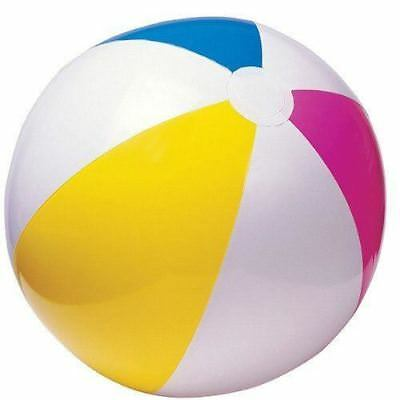 "3X Inflatable Blowup Panel Beach Ball 24"" Holiday Party Swimming Garden Toy"