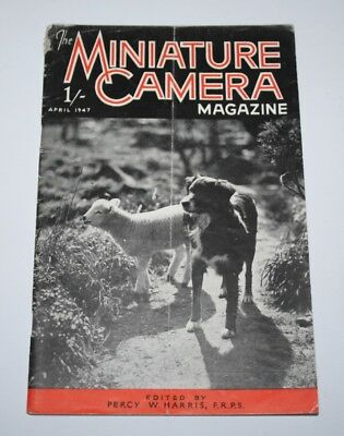 The Miniature Camera Magazine, April 1947 - When Cleaning A Camera
