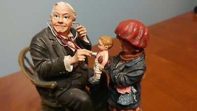 Norman Rockwell Figurine The Saturday Evening Post