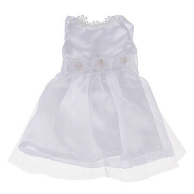 White Dress Veil Outfit Clothing for 18'' Our Generation American Girl Doll