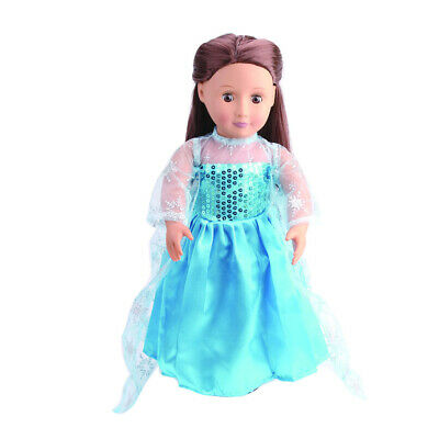 Blue Dress Outfit Clothing for 18'' Our Generation American Girl Doll -1