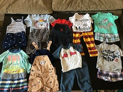 Huge Lot Baby Boy Clothes 3, 6, 3-6 Months 70+ Items