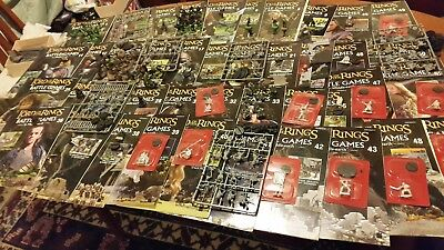 Lord Of The Rings Battle Games  In Middle Earth Magazines With Figures G W
