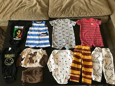Huge Lot Baby Boy 6, 9, 6-9 Month Clothes 30 Items