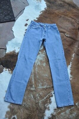 Levis 501 FOR WOMEN Jeans High Waist Button Fly 30 x 33 holes frays USA 553