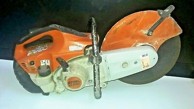 "STIHL 14"" TS500i Concrete Cut Off Demo Saw w/ Concrete Blade - Hand Held - Gas"