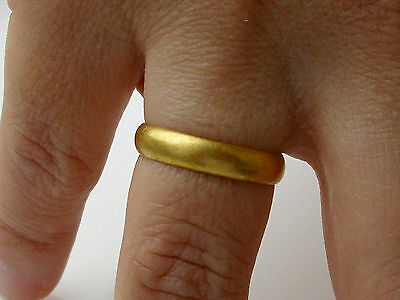 Medieval - Post Medieval Gold Posy Ring metal detecting find