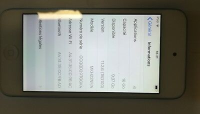 ipod touch 6g 16go