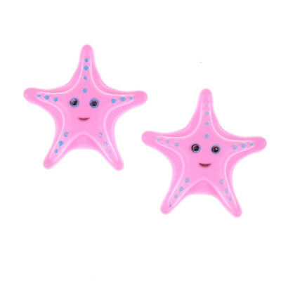 2Pcs Childs Kids Water Starfish Floating Bath Time Fun Toys Education ToysPink