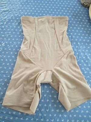 Miraclesuit BEIGE LOWER Body Girdle Shaper SIZE LARGE STYLE 2709