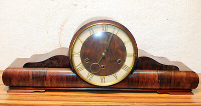 Antique Table Clock Mantel clock Westminster Clock  *Lauffer*