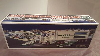 2003 Hess Toy Truck And Race Cars New Condition In Box Mint!