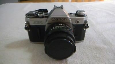 Canon Ae-1 35Mm Camera Made In Japan Untested Sold As-Is Not In Bad Shape
