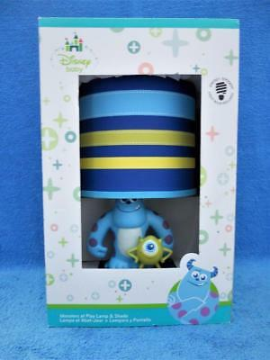 Disney Baby Monsters Inc. Mike & Sulley At Play Baby Nursery Lamp w/Box - New !