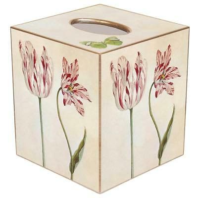 Tissue Box Cover Square Bathroom Accessories Dispenser Holder Tulip