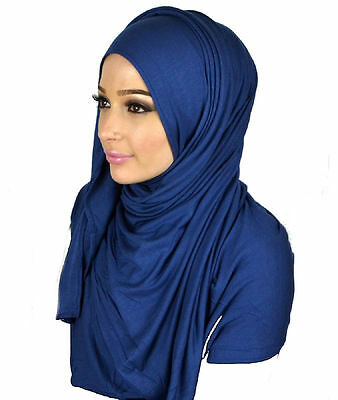 Beautiful Jersey maxi Neck Scarf Sarong Shawl Wrap Blogger BUY 4 GET ONE FREE