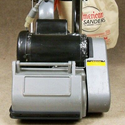 Clarke EZ-8 Drum Sander Refurbished **LIKE-NEW DRUM** Floor Sanding 07012A