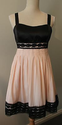 Pink Party Dress size 12, Mei Mei  Fully Lined with satin & Tuile