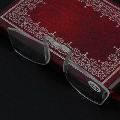 With Clip Reading Glasses Older Mirror Nose Clip Mini Small Eyeglasses Eyewear