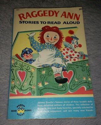 Vintage 1960 Raggedy Ann book Johnny Gruelle stories to read aloud paperback