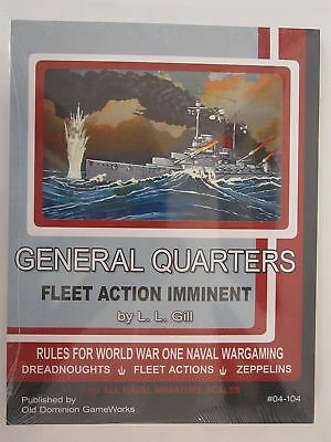 General Quarters Fleet Action Imminent - WWI Naval Wargaming Supplement to Gener