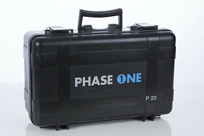 Phase One P20 Original Pelican Carrying Case  Mittelformat Digital Back selten