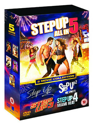 Step Up (5 Movie Collection) NEW PAL Cult 5-DVD Set Channing Tatum Ryan Guzman