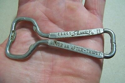Vintage Metal Squirt Pop Beer Bottle Opener Never An After Thirst