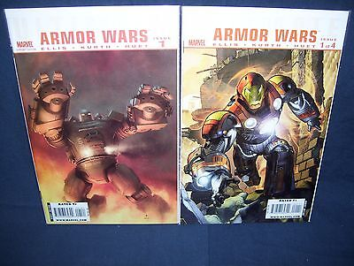 Ultimate Armor Wars #1 with Variant Cover NM with Bag and Board Marvel 2009