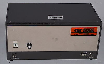 Amplifier Research 15A250 RF Amplifier 10KHz-250MHz 15 *Used, Power-On Tested*