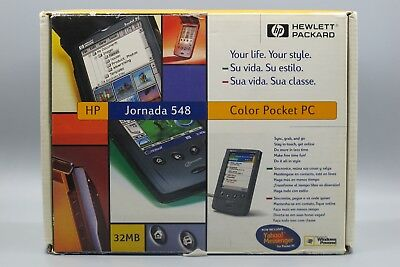 Hewlett Packard Jornada 540 Series Boxed with all accessories