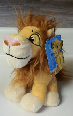 """Disney Lion King Simba Plush 7"""" Tall  by Just Play New with Tags"""