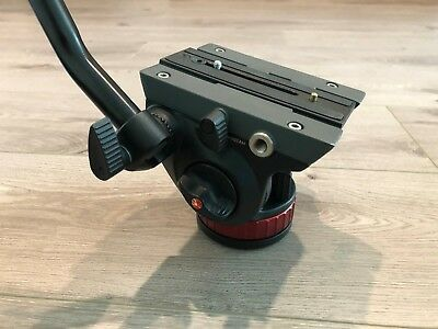 Manfrotto MVH502AH Pro Video Head with Quick-Release and Flat Base