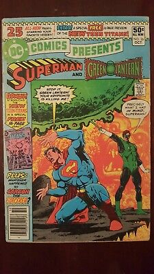 DC Comics Presents 26 - 1st appearance of The new teen titans - key issue! GD/VG