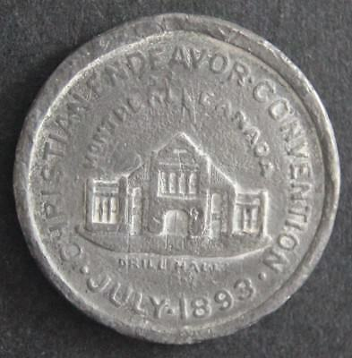 Canadian Medallion - Montreal - Christian Endeavor Convention - 1893