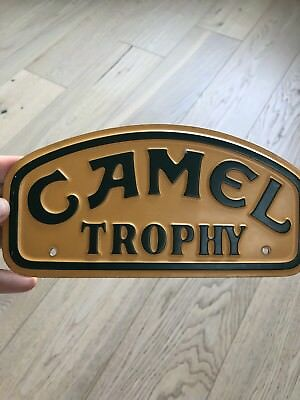 Camel  Trophy Land Rover Original Plate