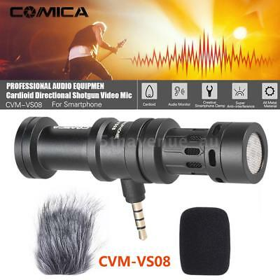 COMICA CVM-VS08 Professional Cardioid Condenser Shotgun Video Microphone V2K4