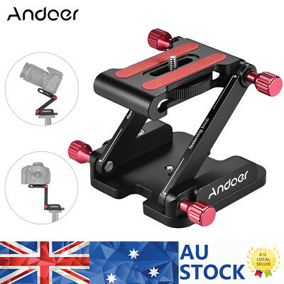 Andoer Z Flex Tilt Ball Head Quick Release Plate for Canon Nikon DSLR Camera DV
