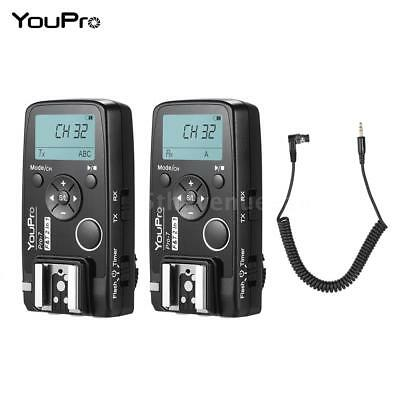 Wireless Shutter Timer Flash Trigger PC Sync Remote Shutter Cable for Nikon D810